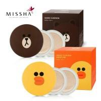 Jual Missha Magic Cushion Mostuire / Missha Line Friends / Bedak Missha Murah