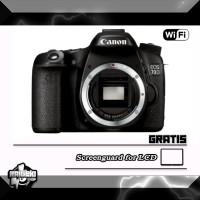 Canon EOS 70D Body Only WiFi ( RESMI )