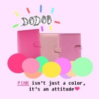 Binder Polos B5 (26 ring) Warna Pink / Merah Muda