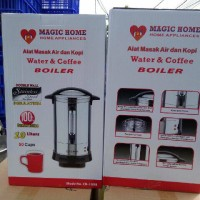 Jual alat elektronik rumah tangga / dapur coffe maker 10 liter magic home Murah
