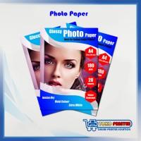 Kertas Foto Glossy A4 untuk Printer Inkjet