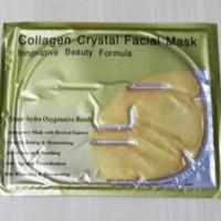 Harga collagen crystal facial mask masker mukawajah | Pembandingharga.com