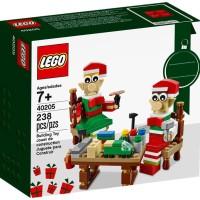 Jual PROMO Lego 40205 Elves' Workshop SEASONAL Christmas Santa Murah