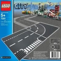 Jual PROMO Lego 7280 City Straight Crossroad Plates USED but good condition Murah