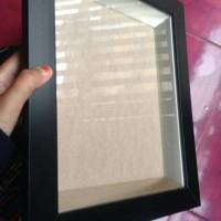 Bingkai/Frame/Pigura Box 3D UK. luas dlm 30x30 Mahar Scrapbook Pop up