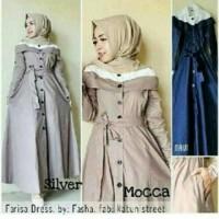 Long Dress Wanita / Dress Muslim Farisa