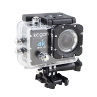 Kogan Action Camera 4K UltraHD - 16MP - Putih - WIFI
