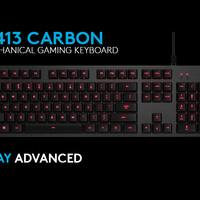 Jual Logitech G413 Carbon Mechanical Backlit Gaming Keyboard Murah