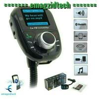harga Bluetooth Handsfree Fm Transmitter Car Kit Mp3 Player Tokopedia.com