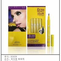 Eyeliner spidol Maybelline kuning liquid eye pen