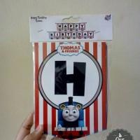 Bendera Ultah Thomas and Friends-Happy Birthday