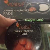 SALSA Varnish Remover Pads (Aseton Tissue Pembersih Kuku)