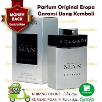 Parfum Original 100% Bvlgari Bulgari Man New EXTREME Ori Reject Nonbox