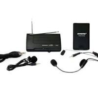 Mic Headset + clip On Wireless Shure PGX 14/93