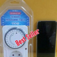 Stop kontak Timer/ Colokan pengatur waktu/Timer 24 Jam Merek Kenmaster