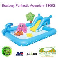 BESTWAY Kolam Renang Anak Keluarga Fantastic Aquarium Play Pool 53052