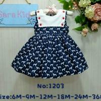 Dress Sara Baby 05 Navy