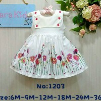 Dress Sara Baby 04 Bunga Krisan
