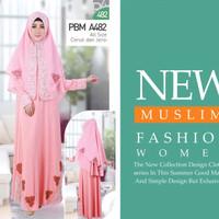 Gamis Busana Muslim Wanita Bandung Harga Grosir Promo Diskon, PMD 482