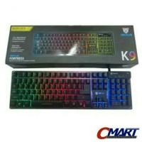 Rexus K9 Fortress Backlit Floating Keys Gaming Keyboard - REX-K9