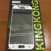 KingKong Tempered Glass Samsung Galaxy A5 2017 Full Cover Anti Gores