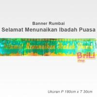 jual hiasan dekorasi puasa ramadhan | banner rumbai