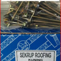Roofing Screw 12x70 Isi 350 pcs