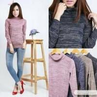 Jual Turtleneck Sweater Twist Knit / Rajut Twist  Murah