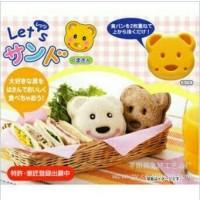 Cetakan Roti Beruang Sandwich Mold Bear