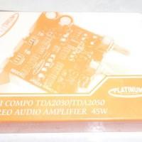 harga Platinum Kit Power Mini Compo Stereo Audio Amplifier 45 Watt Tda 2030 Tokopedia.com