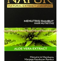 Natur Natural Shampoo Aloe Vera Extract Shampo Untuk Kesuburan Rambut
