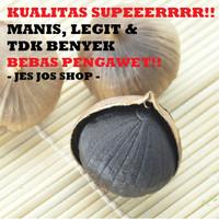 Jual Bawang Hitam Tunggal Lanang (Black Garlic) 500 gram Murah