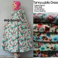 Dress Muslim Gamis Maxi Long Dress Wanita TENRYUUBITO DRESS