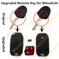 Casing kunci lipat flipkey Mitsubishi pajero sport