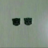 Jual Emblem Transformers Autobots Kecil Warna Chrome Murah