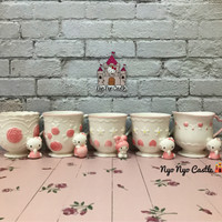 Mug Keramik Classy Sanrio ORI Character (Hello Kitty & My Melody)