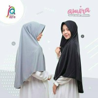 Jual Jilbab Afra - Amira Ukuran XL (Bergo Antem Kaos) Murah