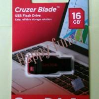 Jual Falshdisk Sandisk 16GB Cruzer Blade CZ50 - Garansi Resmi Murah