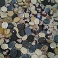 batu natural ,gambar soekarno buatan