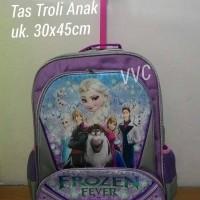 harga Tas Trolley Frozen / Tas Anak Sd / Tas Frozen / Tas Trolly Tokopedia.com