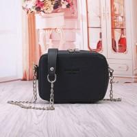 Tas Wanita Import C91814 Black Sling Bag Casual Korea Kate Pade Casual