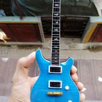 Miniatur Gitar PRS Blue Matteo Santana Signature