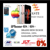 [CEK GAN] iPhone 6S 64GB rose gold garansi apple original 1 thn BNIB
