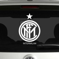 Stiker Mobil Cutting Sticker Kaca & Body Mobil - Logo Inter Milan