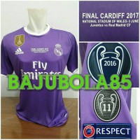 REAL MADRID AWAY FINAL CARDIFF 2017 + MDT + FULLPATCH UCL + FIFA