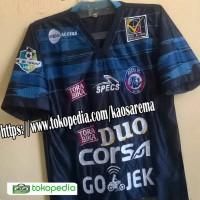 JERSEY AREMA FC HOME TERBARU LOGO BORDIR