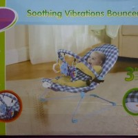 soothing vibrations bouncer bloom baby
