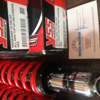 Shock Absorber - Suspension YSS Top Up 340 Red Merah