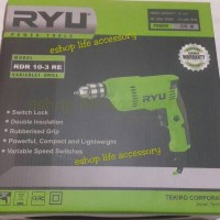 Mesin Bor Beton / Impact Drill 10 Mm / 10mm RYU RIR 10-3 RE By Tekiro