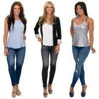 Jual jeans jegging (lengging) slim and Lift #es